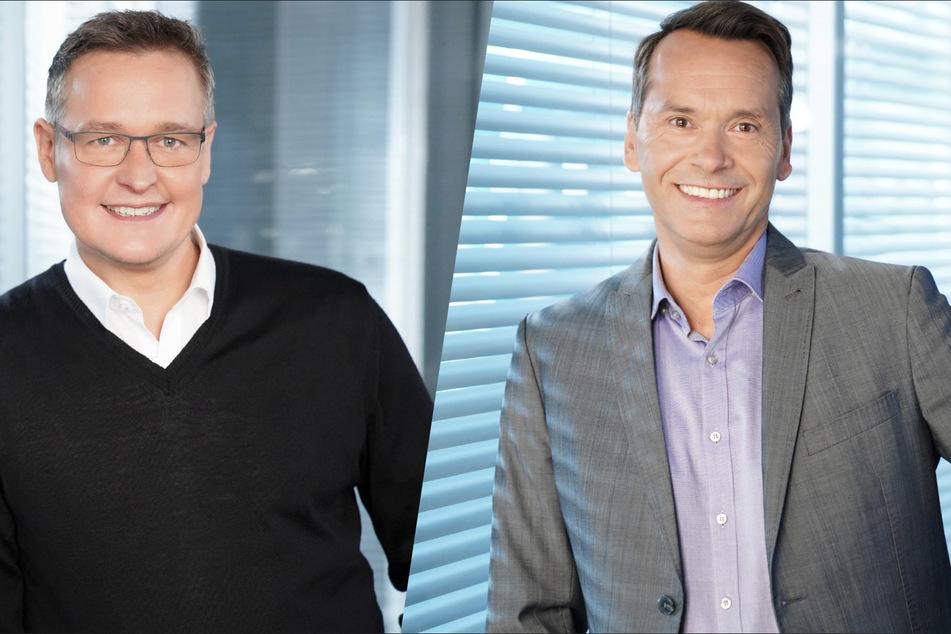 Bernd Fuchs (l.) und Christian Häckl werden das neue RTL-Format ab dem 8. Juli moderieren.