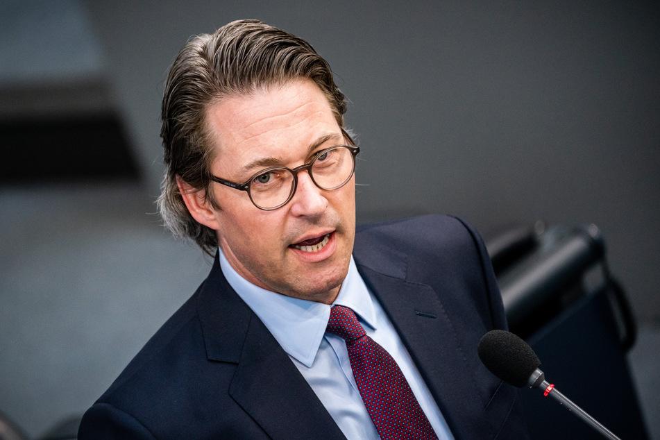 Andreas Scheuer (CSU), Bundesminister für Verkehr und digitale Infrastruktur.