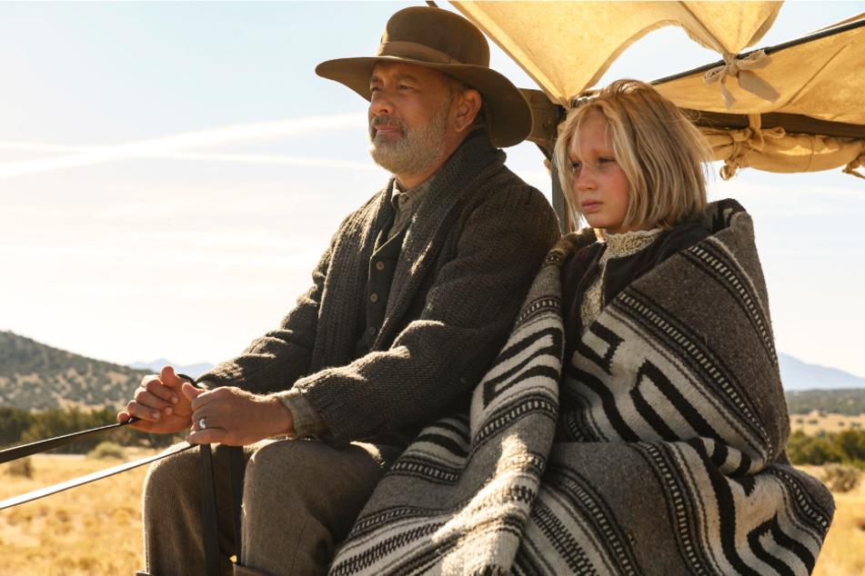 """Was für ein Aufstieg! Helena Zengel (12) schaffte es vom """"kleinen"""" deutschen Film """"Systemsprenger"""" nach Hollywood an die Seite des zweifachen """"Oscar""""-Preisträgers Tom Hanks (64)."""