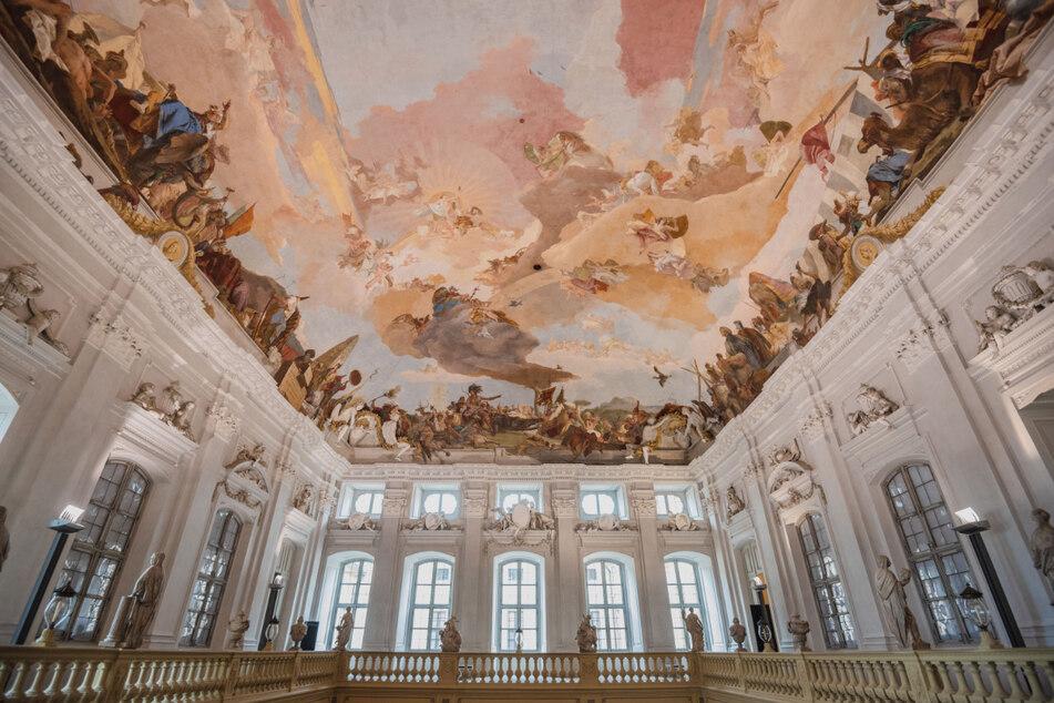 Venezianer Tiepolo malte das Fresko in der Würzburger Residenz: Doch der Plan war ein anderer
