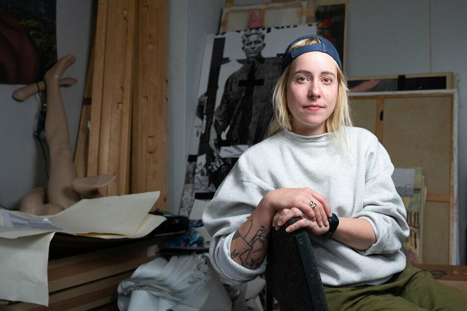 Künstlerin Lisa Maria Baier (32) legte sich juristisch mit der Stadt Görlitz an.