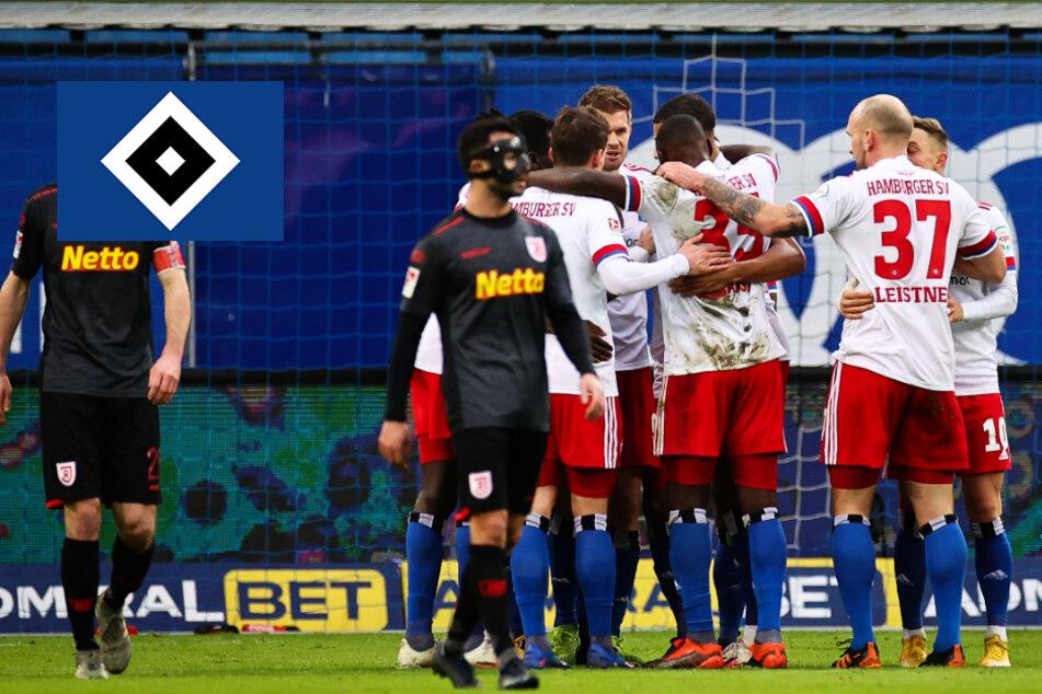 Tabellenführer! HSV bezwingt Regensburg bei VAR-Festival im Volksparkstadion