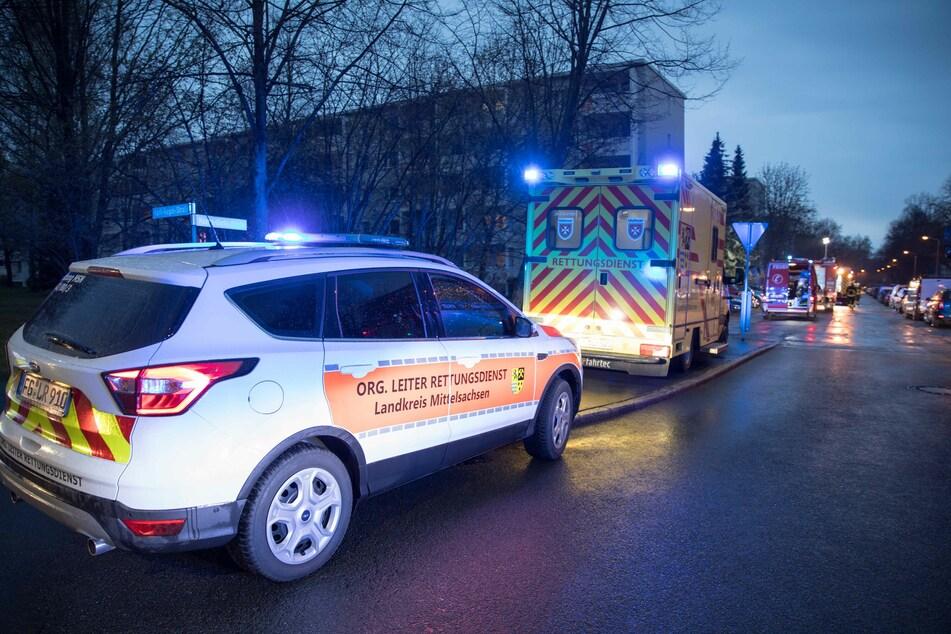 Chemnitz: Brandstiftung in Mehrfamilienhaus: Bewohner evakuiert, mehrere Verletzte