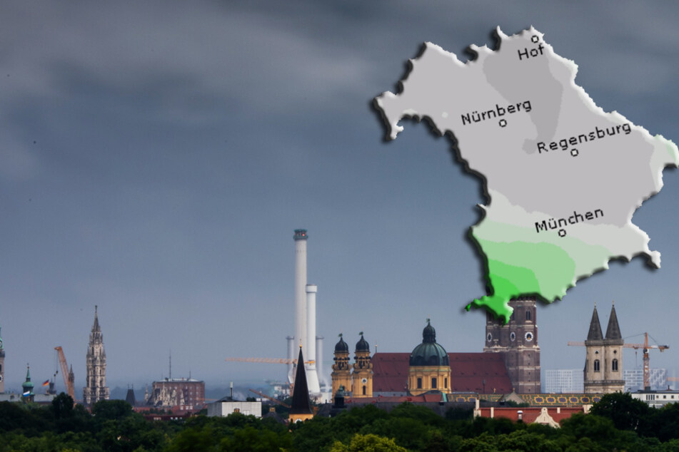 Wolkig mit Aussicht auf Regentropfen: So wird das Wetter in Bayern