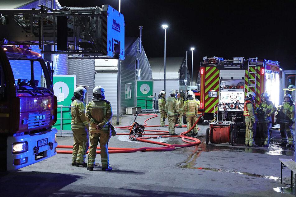 Dresden: Feuer in Erstaufnahme-Einrichtung: Matratze in Brand