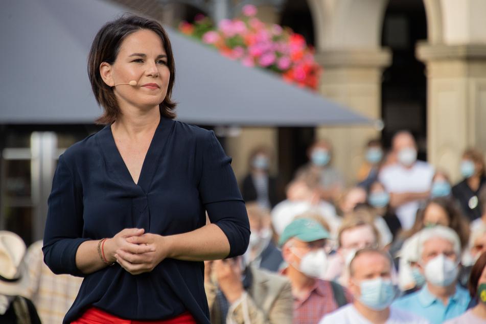 Annalena Baerbock, Kanzlerkandidatin und Bundesvorsitzende von Bündnis 90/Die Grünen.