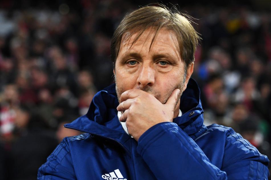 Olympiakos-Trainer Trainer Pedro Martins (49) steht vor einer ungewissen Zukunft mit Piräus. (Symbol- und Archivbild)