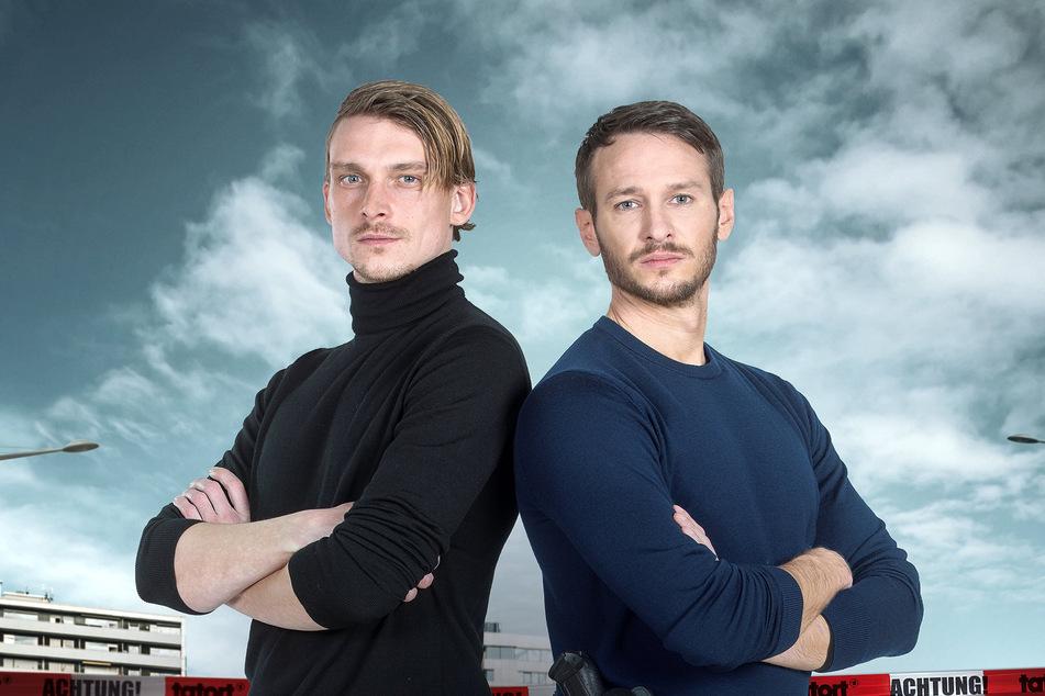 """Die saarländischen """"Tatort""""-Hauptkommissare, Adam Schürk (Daniel Sträßer, links) und Leo Hölzer (Vladimir Burlakov) dürfen wieder ans Set."""
