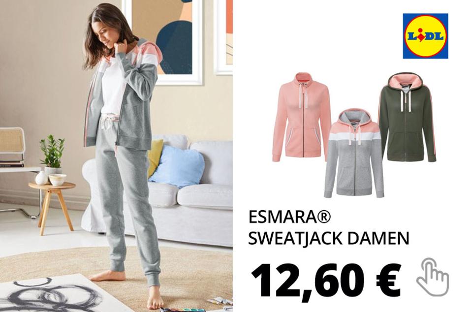 ESMARA® Sweatjacke Damen
