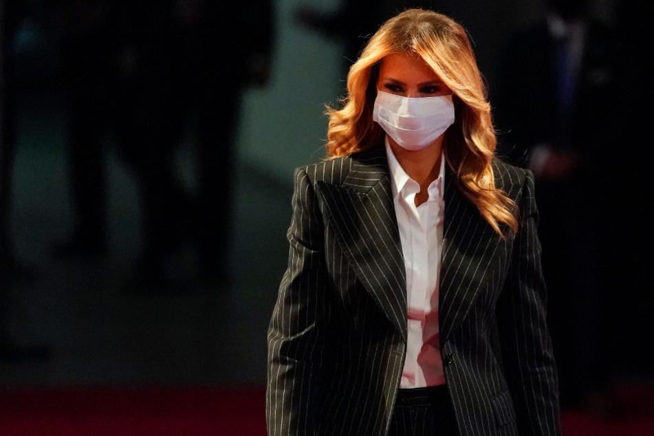 """""""Achterbahn der Symptome"""": Melania Trump schildert ihre Corona-Infektion"""