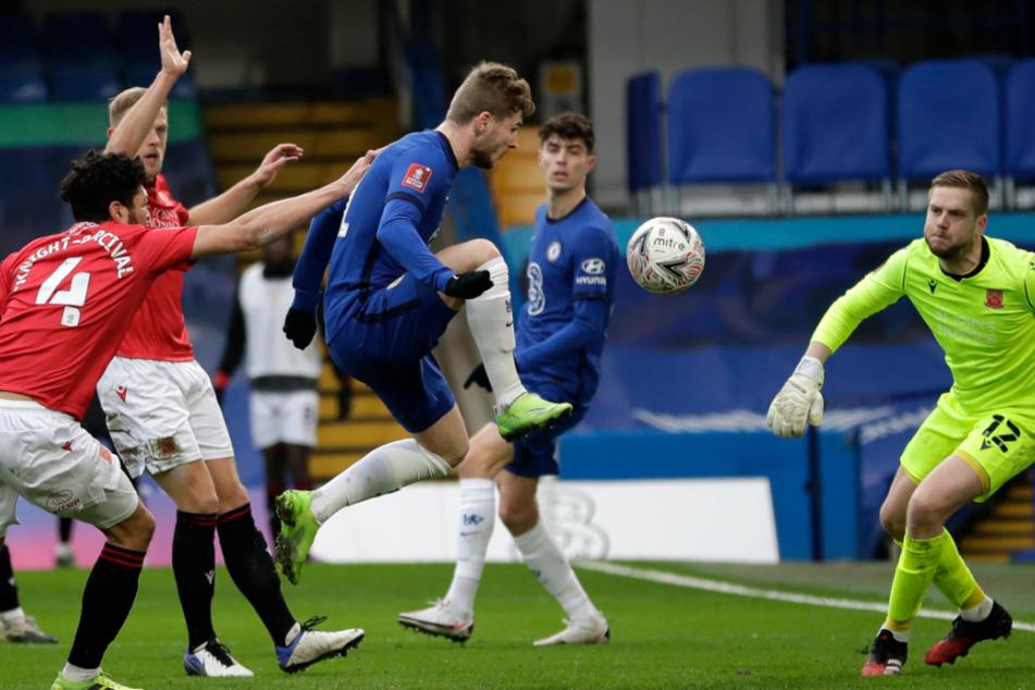 Vorlage Havertz, Tor Werner! Chelseas DFB-Kicker beenden Torlos-Serie