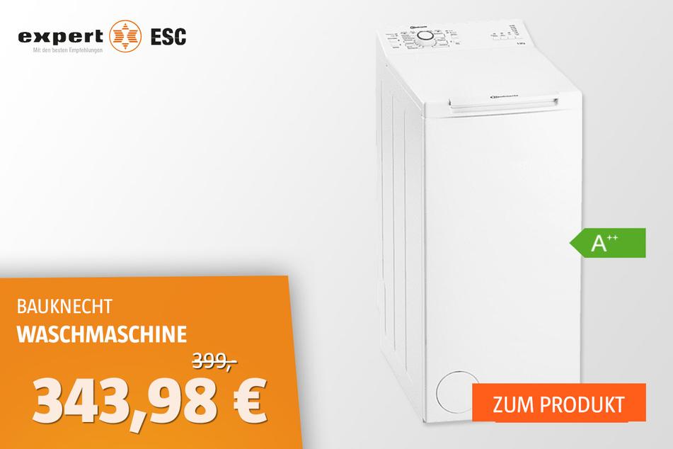 BAUKNECHT WMT Pro 55U Waschmaschine für 343,98 statt 399 Euro
