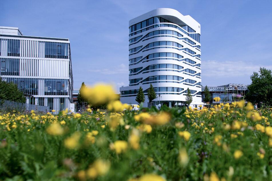 Das Innovations- und Gründerzentrum Biotechnologie IZB in Martinsried bei München.