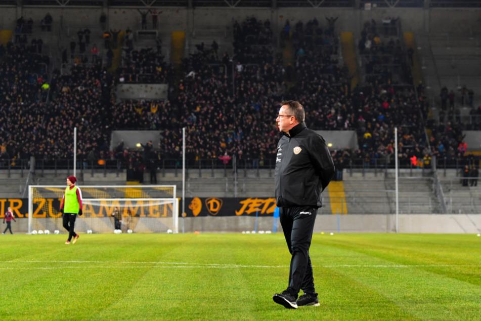 Dynamo-Trainer Markus Kauczinski kann es kaum erwarten, dass wieder Fans zu den Spielen ins Stadion kommen.
