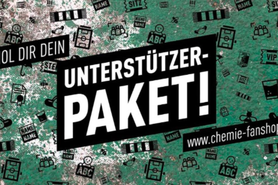 Die Spendenaktion von Chemie Leipzig hat eine überwältigende Reaktion ausgelöst.