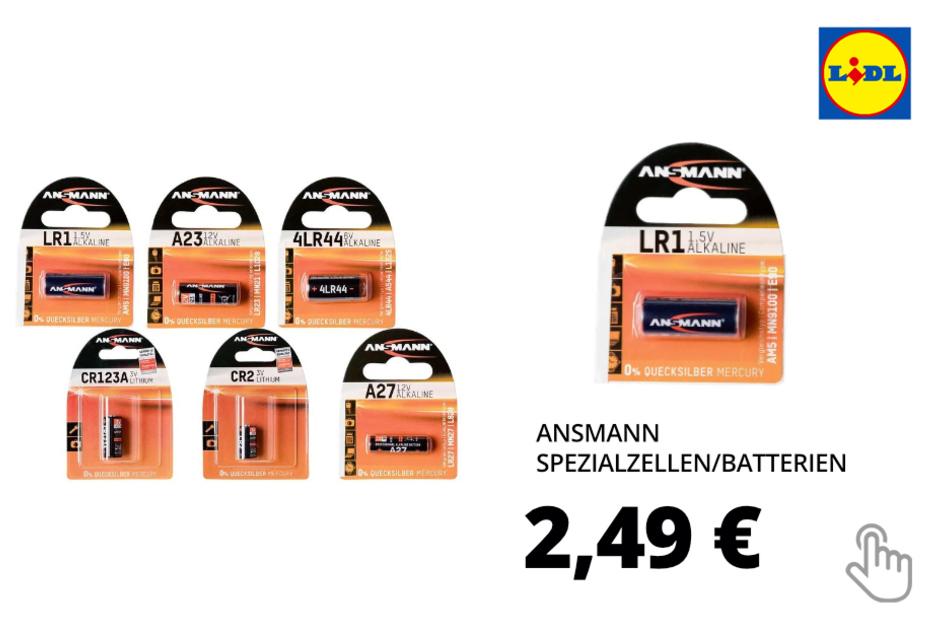 Spezialzellen/Batterien