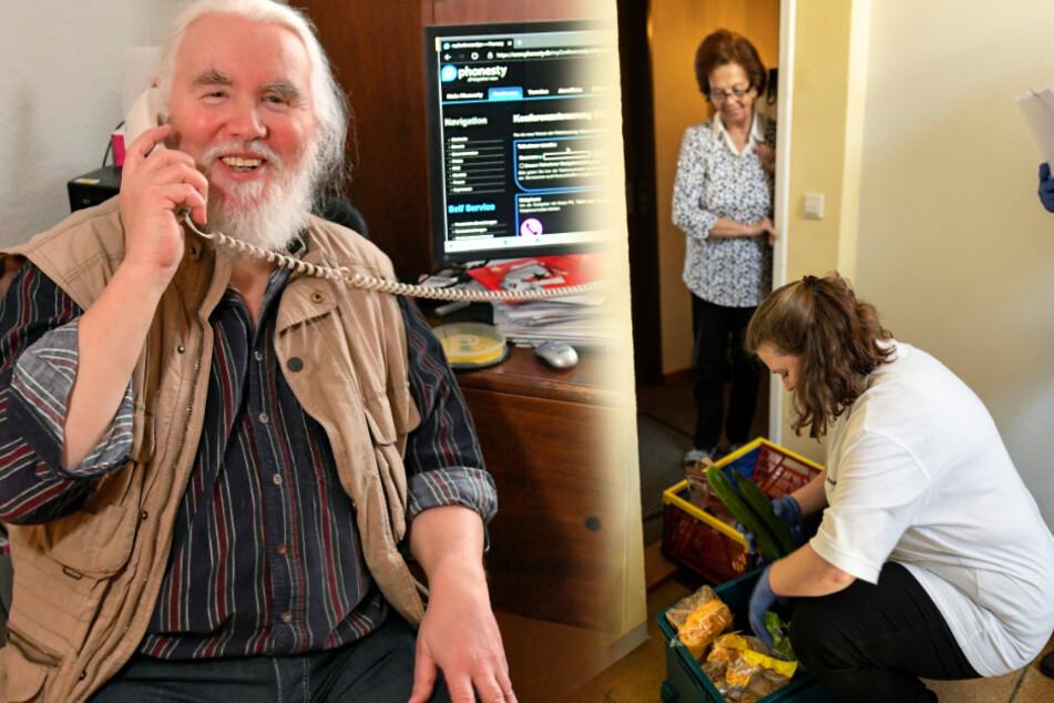 Dresden: Kampf gegen Corona-Blues: Verein hat sich für Senioren etwas Geniales ausgedacht