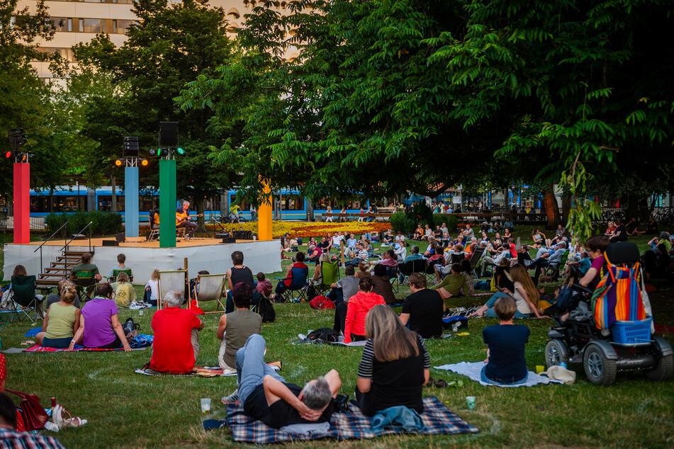 """So wie beim Chemnitzer Parksommer 2020 könnte es auch im Sommer 2021 beim """"Cultursommer"""" an verschiedenen öffentlichen Plätzen in der Stadt aussehen."""