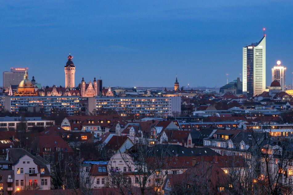 Die Stadt Leipzig ist die einzige ostdeutsche Region, der ein großes Wachstum in den kommenden 20 Jahren prognostiziert. (Archivbild)