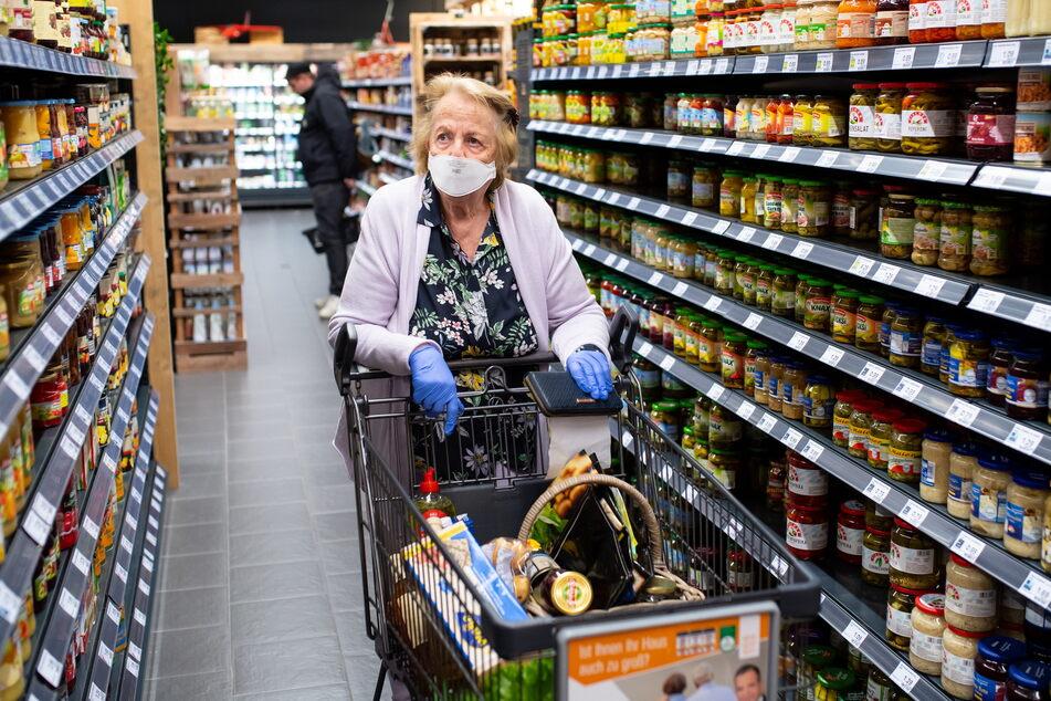 Zum Einkaufen darf man auch dann gehen, wenn Ausgangsbeschränkungen gelten.