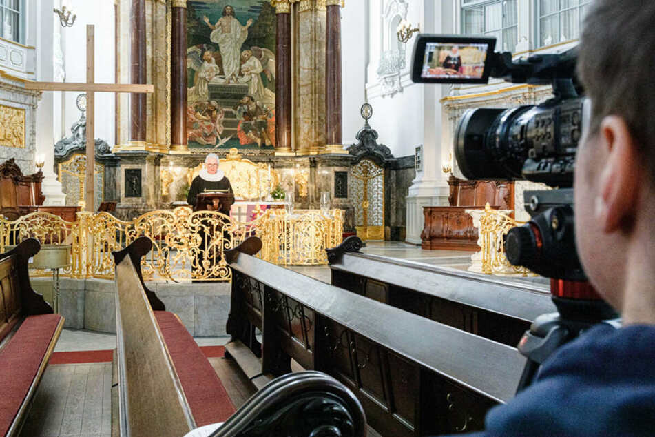 Per Live-Stream kann man den Gottesdiensten von zu Hause aus beiwohnen. (Archiv)