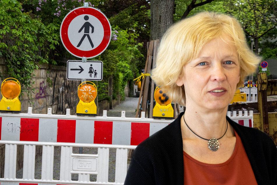Läuft! Rathaus will 53 Fußwege in Dresden sanieren