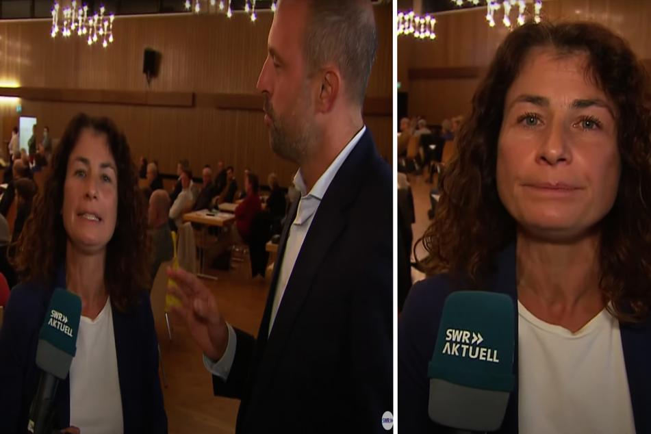 CDU-Politiker stört SWR-Live-Schalte von Parteitag und sorgt für Abbruch!