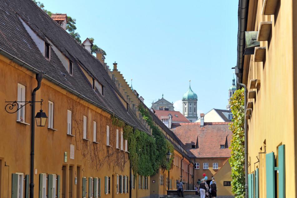 Die Fuggerei in Augsburg besteht seit 500 Jahren.