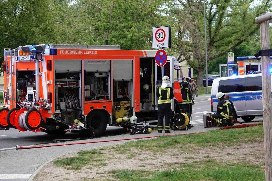In Leipzig-Möckern ist es am Freitagabend zu einem Brand gekommen.