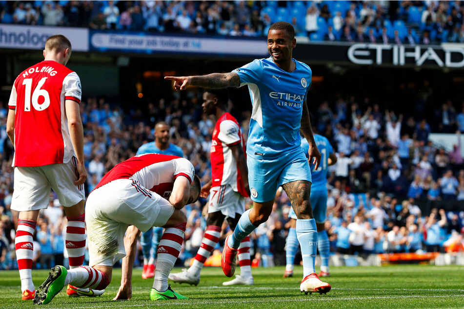 Gabriel Jesus und Manchester City ließen dem FC Arsenal nicht den Hauch einer Chance.