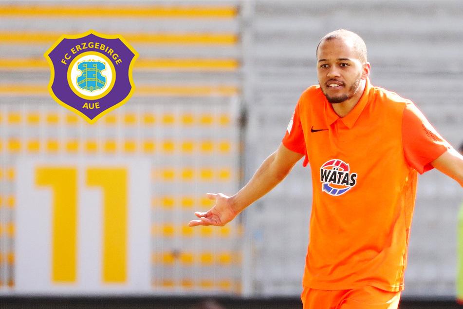 Nach Vertragsablauf bei Erzgebirge Aue: Louis Samson geht in die 3. Liga!
