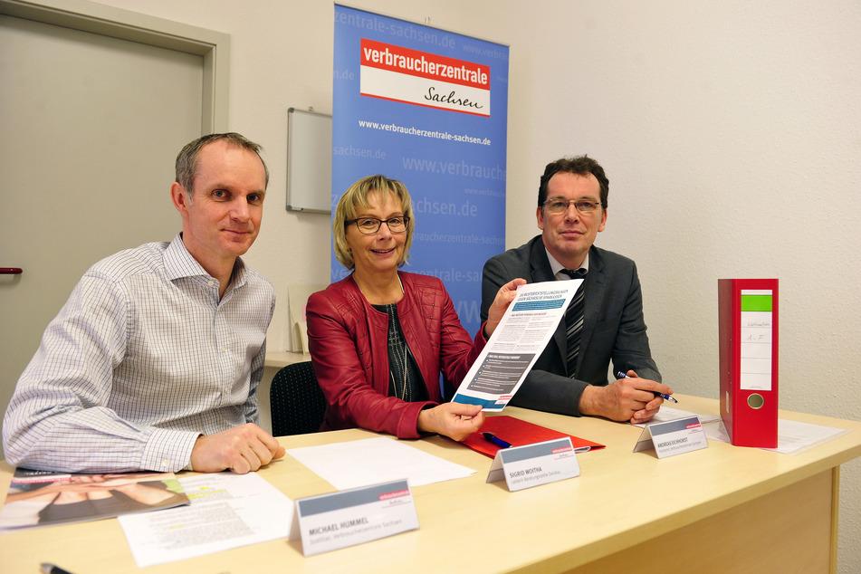 Mit einer Musterfeststellungsklage zieht die Verbraucherzentrale Sachsen gegen die Sparkasse Zwickau am Mittwoch vor Gericht.