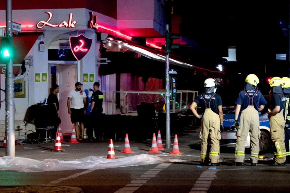 """Berlin: Knapp 30 Schüsse vor Berliner Shisha-Bar! Staatsanwaltschaft: """"Es ist alles im Dunkeln"""""""
