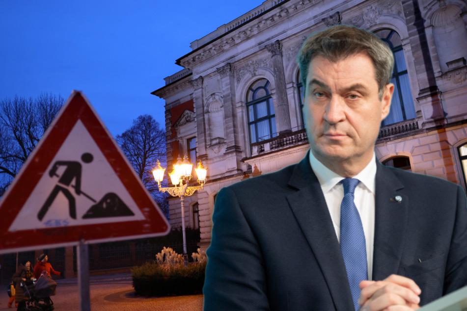 """""""Fehlentscheidung"""": Söder kritisiert Rundfunk-Streit der CDU in Sachsen-Anhalt"""