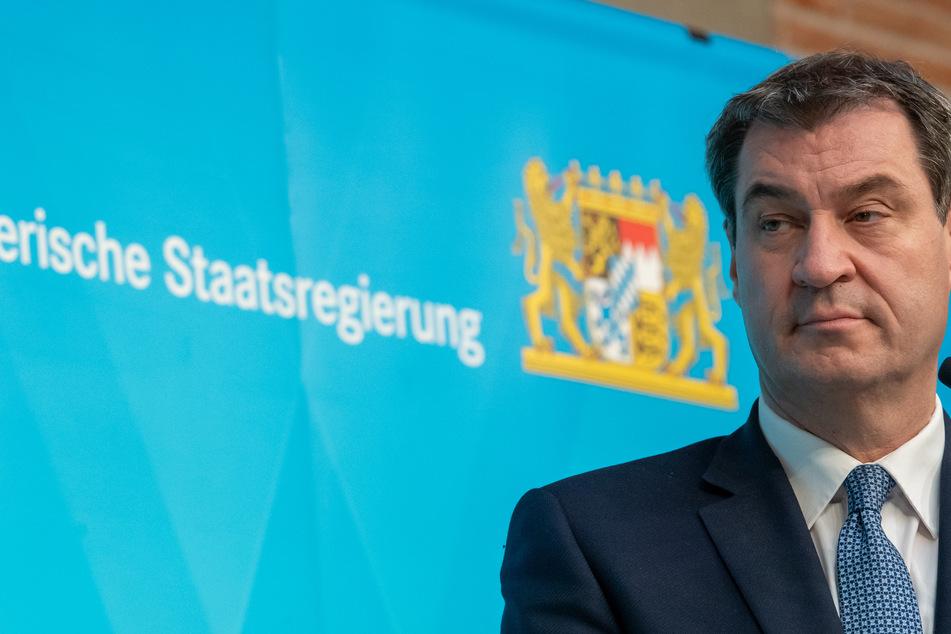 Der CSU-Vorsitzende und bayrischer Ministerpräsiudent Markus Söder.