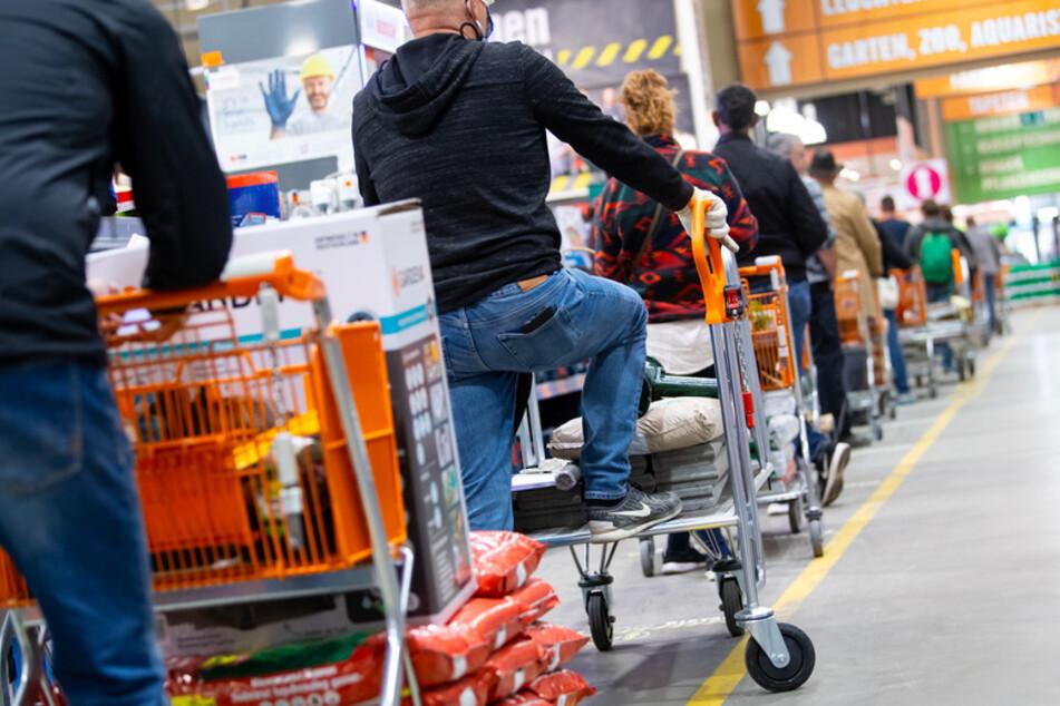 Ab dem 20. April 2020 durften Bau- und Gartenmärkte in Bayern wieder öffnen.