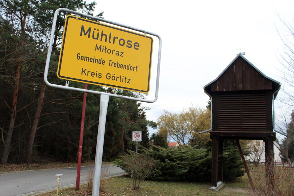 Auch das Dorf Mühlrose ist betroffen.