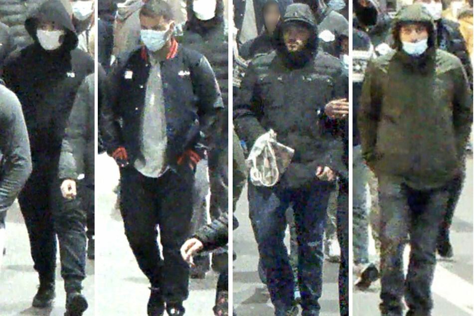 Mit diesen Bildern aus einer Überwachungskamera erhofft sich die Polizei Hinweise aus der Bevölkerung.