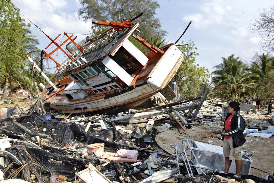 Rund 230.000 Menschen kamen bei der Tsunami-Katastrophe am 26. Dezember 2004 ums Leben.