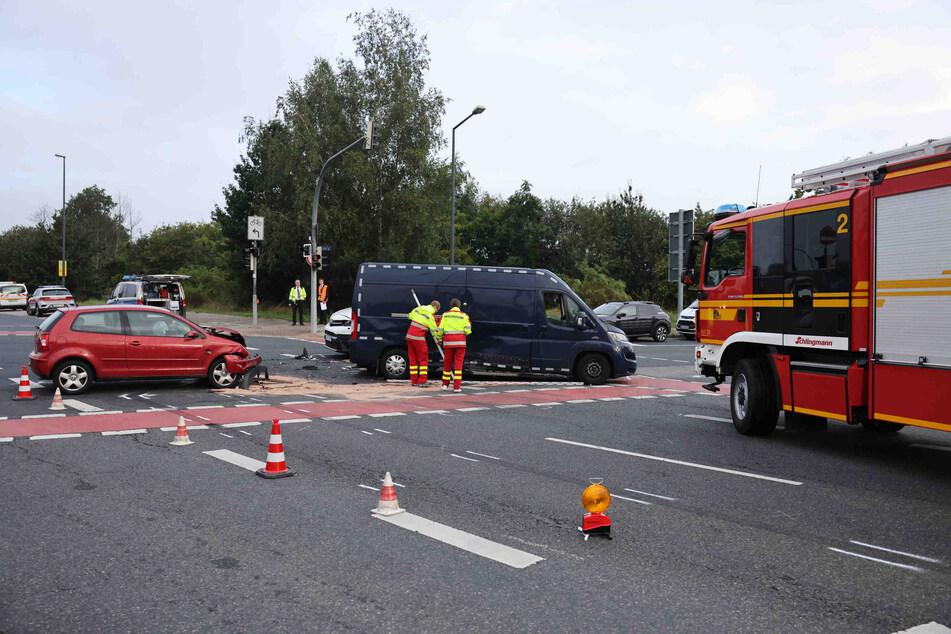 Die Aufräumarbeiten sorgten für Verkehrsbehinderungen im morgendlichen Berufsverkehr.