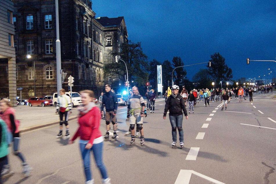 Bis zu 1000 Skater dürfen am Freitag teilnehmen.
