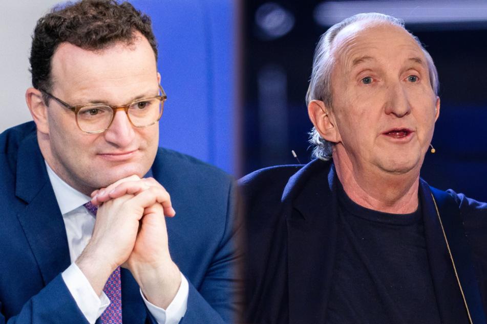 """Mike Krüger dichtet """"Nippel""""-Song um und macht Jens Spahn ein Angebot"""