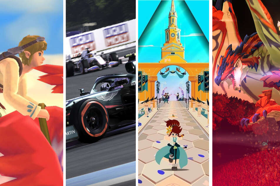Monster Hunter Stories, The Legend of Zelda und F1: Diese Spiele kommen im Juli