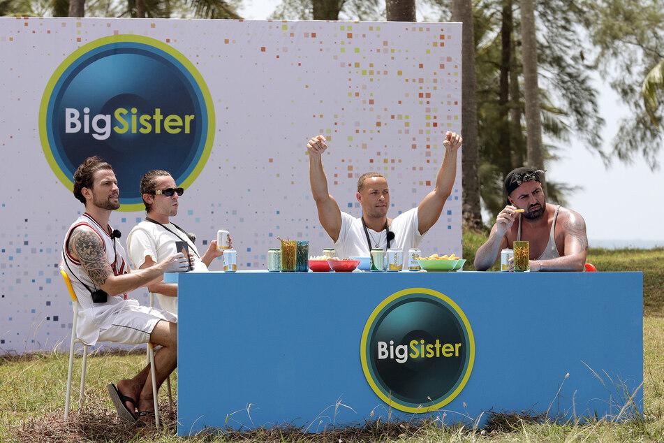 """Rocco (l.) ist beim Spiel """"BigSister"""" direkt gefordert."""
