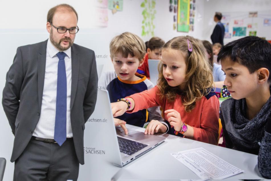 Digitaler Durchblick: Millionen-Segen bringt Sachsens Schulen endlich neue Technik