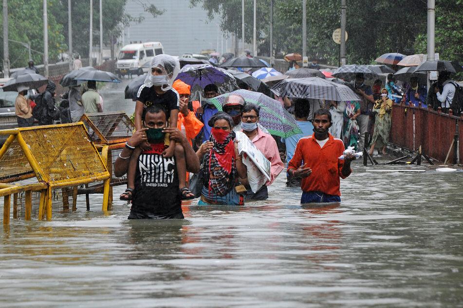 Heftige Regenfälle während der Monsun-Saison haben für Überschwemmungen gesorgt.