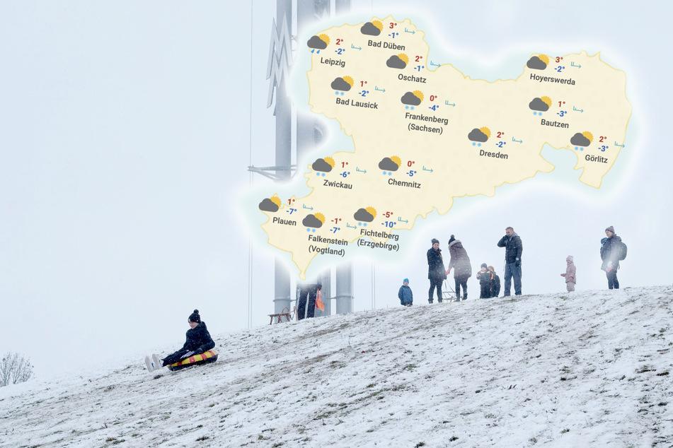 Schneezauber in Sachsen! Wie langt bleibt der Winter-Spaß bei uns?