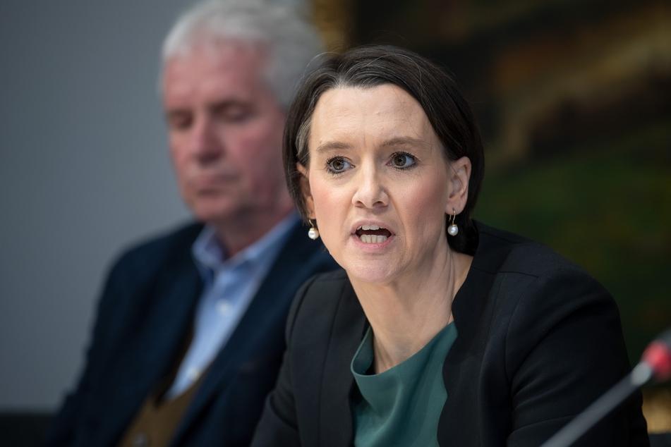Claudia Bogedan (SPD), Senatorin für Kinder und Bildung.