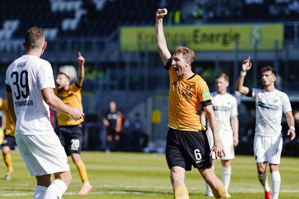 Am 33. Spieltag der vergangenen Saison erzielte Marco Hartmann das 1:0 in Sandhausen. Für den Klassenerhalt hat es letztlich leider nicht gereicht.