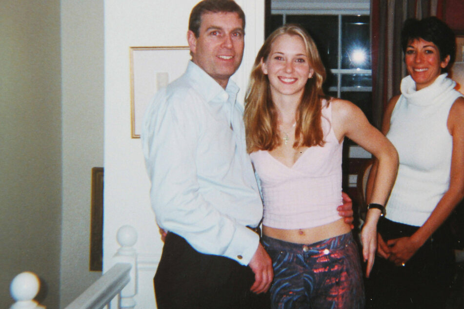 Prince Andrew sweating as Epstein accuser Virginia Giuffre launches sex abuse lawsuit